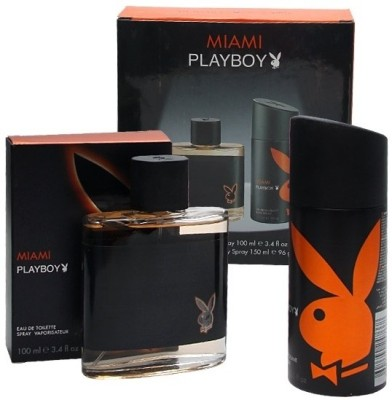Buy Playboy Gift Set - Miami: Combo Gift Set
