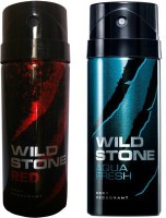Wild Stone Red And Aqua Fresh Combo Set (Set Of 2)