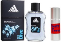 Adidas Ice Dive Perfume And Sports Fever Combo Set (Set Of 2)