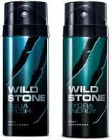 Wild Stone Aqua Fresh And Hydra Energy Combo Set (Set Of 2)