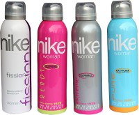 Nike Set Of 4 Deodorants For Women/Girls Combo Set (Set Of 4)