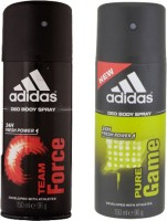 Adidas Team Force And Pure Game Combo Set (Set Of 2)