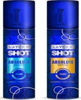 Layer'r Shot Absolute Game, Rush Combo Set (Set Of 2)