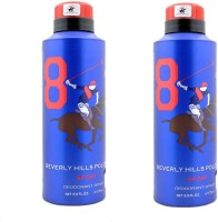 Beverly Hills Polo Club Sport 9 Deodorant Spray-Blue Combo Set (Set Of 2)