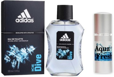 Adidas Combos Adidas Ice Dive Perfume And Aqua Fresh Combo Set