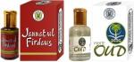 Purandas Ranchhoddas Gift Sets Purandas Ranchhoddas Jannatul Firdaus & White Oud Attar Gift Set