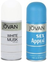 Jovan White Musk And Sex Appeal Combo Set (Set Of 2)
