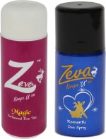 Zeva Keepz U On Combos Zeva Keepz U On WITHOUT ALCOHOL WOMEN DEODORANT GIFTSET Combo Set