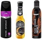 Park Avenue Combos Park Avenue Storm,Magnificco,Anti Dandruff Beer Shampoo Combo Set