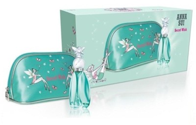 Anna Sui SECRET WISH GIFT SET 30ML EDT + POUCH Gift Set Set of 2 available at Flipkart for Rs.2177