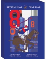 Bhpc Beverly Hills Polo CLub Sport Gift Set (set Of2) For Men No 8 Combo Set (Set Of 2)