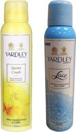 Yardley Combos Yardley Secret Crush and Lace Combo Set