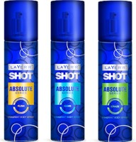 Layer'r Shot Absolute ( Set Of 3) - Craze, Game, Rush Combo Set (Set Of 3)