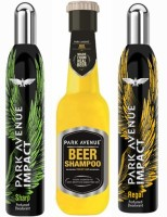 Park Avenue Sharp,Regal And Dry Beer Shampoo Combo Set (Set Of 3)