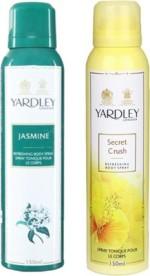 Yardley Combos Yardley Jasmine and Secret Crush Combo Set