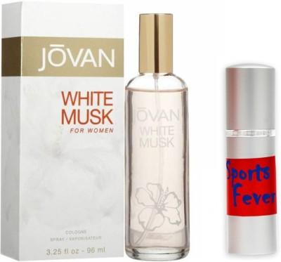 Jovan Combos Jovan White Musk Woman Perfume And Sports Fever Combo Set