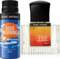 Park Avenue Good Morning Deodorant ,9 To 5 EDP Combo Set (Set Of 2)