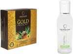 Oxyglow Combos and Kits Oxyglow Gold Facial Kit & Smooth Shine Hair Fluid