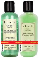 Khadi Neem Anti Dandruff Combo (Set Of 2)