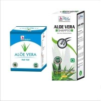 Besure Aloe Vera Hair Gel With Aloe Vera Shampoo (Set Of 2)