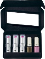 Loreal Paris Rouge Caresse & Le Vernis Kit - Pink (Set Of 5)