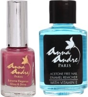 Anna Andre Paris Nail Polish & Nail Polish Remover Set (Set Of 2)