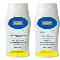 Indus Valley Set Of Anti-dandruff Shampoo & Conditioner In Combo Kit (Set Of 2)