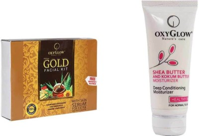 Oxyglow Combos and Kits Oxyglow Gold Facial Kit & Shea Butter & Kokum Butter