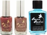 Anna Andre Paris Combos and Kits Anna Andre Paris Nail Polish Shimmering Sunset Duo Set & Nail Polish Remover