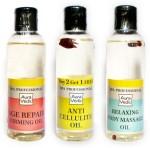 Auravedic Combos and Kits Auravedic Spa Oil Combo Repair Cellulite Relaxing