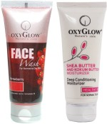 Oxyglow Combos and Kits Oxyglow Strawberry Face Wash & Shea Butter & Kokum Butter