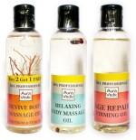 Auravedic Combos and Kits Auravedic Spa Oil Combo Repair Revive Relaxing