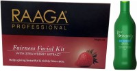 Raaga Professional Fairness Facial Kit With ProBotanix Anti Dandruff Shampoo (Set Of 2)