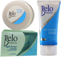 Belo Essentials Night Therapy Whitening Vitamin Cream & Skin Hydrating Face Wash (Set Of 2)