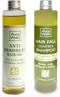 Auravedic Natural Anti Dandruff Treatment (Set Of 2)