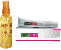 Streax Hair Serum And Hair Straightener Cream Combo (Set Of 2)