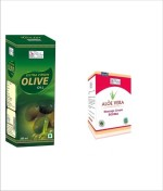 Besure Combos and Kits Besure Extra Virgin Olive Oil with Aloe Vera Massage Oil