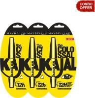 Maybelline The Colossal Kajal (Set Of 3)