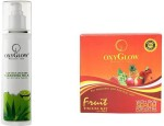 Oxyglow Combos and Kits Oxyglow Aleo Vera & Citrus Deep Cleansing Milk & Fruit Facial Kit