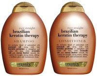 OGX Ever Straight Brazilian Keratin Therapy (Set Of 2)