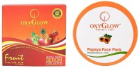 Oxyglow Fruit Facial Kit & Papaya Face Pack (Set Of 2)