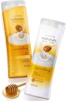 Avon Naturals Milk & Honey Hand & Body Lotion (200 Ml) & Shower Gel (200 Ml) (Set Of 2)