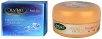 Clear Face Diamond Facial Kit With 24 Carat Gold Massage Gel (Set Of 2)