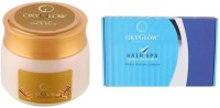 Oxyglow Gold Face Pack Eco Pack & Hair Spa Herbal Treatment Kit (Set Of 2)
