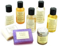 Khadi Complete Herbal Skin Care Kit Of Scrub, Oils, Soaps & Shampoo (Set Of 8)