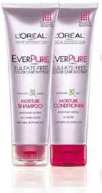 Loreal Combos and Kits Loreal Everpure Moisture Shampoo and Conditioner Rosemary Mint