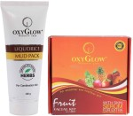Oxyglow Combos and Kits Oxyglow Liquorice Mud Pack & Fruit Facial Kit