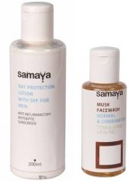 Samaya Day Protection Lotion With Spf And Musk Face Wash Combo (Set Of 2)
