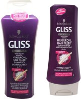 Schwarzkopf Gliss Hyaluron Hair Filler Shampoo And Conditioner (Set Of 2)