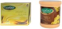 Clear Face 24 Carat Gold Facial Kit With 24 Carat Gold Face Pack (Set Of 2)